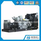 Gerador de energia de emergência de 1200kw / 1500kVA com motor Perkins