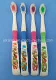 方法漫画の印刷の子供の歯ブラシ