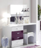 New Elegant Design High Gloss Lacquered Modern Bedroom Set (HC217)