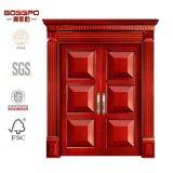 Estilo de pan talla diseños puerta principal doble puerta (GSP1-024)