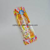 BOPP 투명한 편평한 바닥 사각 사탕을%s 비닐 봉투 BOPP 투명한 부대