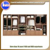 현대 가정 디자인 옷장에 있는 주문 나무로 되는 가구 침실 옷장 도보