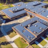 sur le système d'alimentation à énergie solaire de l'utilisation 10kw de maison de réseau