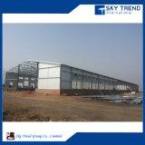 Vertiente de la granja avícola del diseño de la estructura de acero