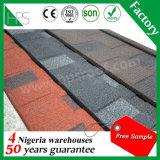 Telhas de telhado revestidas do metal da pedra do material de telhadura da isolação térmica