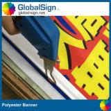 Segni della bandiera della rete fissa della costruzione del segno della bandierina del poliestere grandi