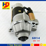 motor de arrancador de motor de 24V 11t 6D14 para Mitsubishi