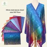 Nouvelle Dame Mode Pashmina Châle Style ethnique Soft Characters Foulard