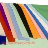 A tela do Spandex da tela do poliéster tingiu a tela química da tela para a cortina da saia da camisa de vestido do vestuário