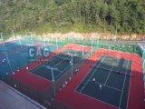 Plancher de verrouillage de court de tennis de polypropylène de Cag pp pour le professionnel et l'amateur