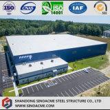 Pre-Проектированная мастерская стальной структуры для завода
