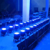 색깔 54X3w DMX 단계 DJ LED 동위 빛을 바꾸십시오
