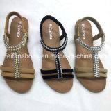 2017 nuovo arrivano i sandali di cadute di vibrazione del Flat di modo della signora (JH1209-1)