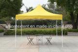 gele Tent Gazebo van de Tent van het Staal van 3*3m de Openlucht Pop omhooggaande Vouwbare