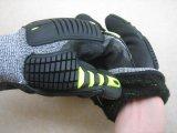 Hohe Auswirkung Anti--Schnitt schützenden TPR Arbeits-Handschuh