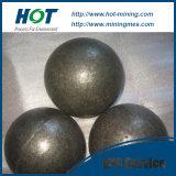 Fraisage en acier laminé à chaud de bille et billes en acier manuellement modifiées neuves