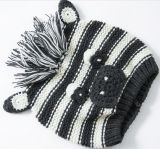 Шлем младенца связанный Acrylic Newborn теплый
