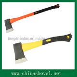 Testa di ascia del acciaio al carbonio dell'ascia con la maniglia A601pl della vetroresina