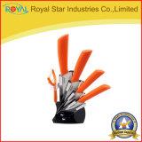 Kitchenware 5PCS при установленный нож держателя керамический (RYST0105C)
