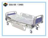 (A-59) het Beweegbare Bed van het Ziekenhuis van de enig-Functie Hand met ABS het Hoofd van het Bed
