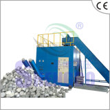 Imprensa de ladrilhagem automática horizontal das sucatas de alumínio (fábrica)