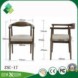ホテルのレストラン(ZSC-17)のための新中国様式の骨董品の木の肘掛け椅子