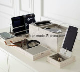 Station de charge et fourre-tout avec le port USB