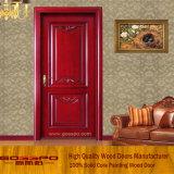 Самомоднейшая нутряная деревянная дверь с высекать (GSP2-058)