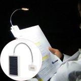 Clip dual flexible vendedor caliente de 2016 2 brazos en la lámpara del LED para el soporte de música y el negro de la luz de la lectura del libro