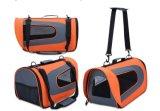 新しく大きい旅行公認の携帯用Foldableペットキャリアのショルダー・バッグ
