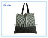 공동 자금, 버찌, 줄무늬 디자인 화포 끈달린 가방