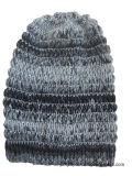 شتاء قبعة أكريليكيّ جاكار قبعة [بني] قبعة عالة [نيت] قبعة [بوم] [بوم] يحبك قبعة
