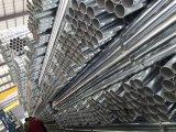 Tubulação de aço sem emenda galvanizada mergulhada quente para a fonte de água