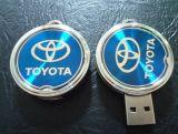 Palillo dominante de la memoria del mecanismo impulsor 2GB de la pluma de la insignia del epóxido del disco de destello del USB del coche