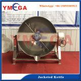 ジャケットのやかんの炊事道具を傾けるステンレス鋼の食品加工の機械装置