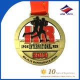 Medaglia di sport della medaglia di Bodybuilding dell'oro del metallo del rifornimento della fabbrica per il ricordo