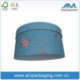 2017 rectángulos de empaquetado de lujo del sombrero del envío del rectángulo del redondo de salida de Rose para la flor