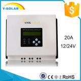Disipador de calor de MPPT 12V/24V 20A que refresca el regulador solar Sch-20A-L de la visualización de LCD-LED