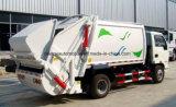 6車輪90 HP販売のための圧縮機械小さい5トンのガーベージのそして輸送のトラック