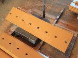Remplacement du chanfrein de double de tranchant de bouteur du tranchant 154-70-11314 de bouteur plat