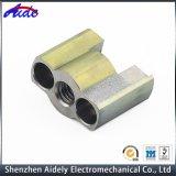 Peças de alumínio personalizadas da maquinaria do CNC para o espaço aéreo
