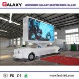 Carro publicitario móvil de la pantalla de visualización de LED del RGB HD P5/P6/P8/P10