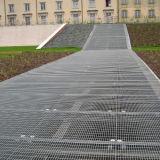 Hete onderdompelende gegalvaniseerde staalgrating voor landschapsgang