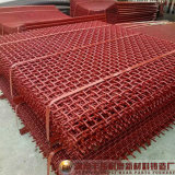 Rete metallica personalizzata del vaglio oscillante Mn65 per estrazione mineraria/cava/complesso