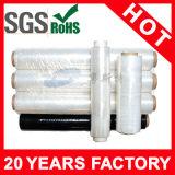 Envoltório plástico Rolls do estiramento do uso da mão do LDPE