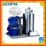 Machine de glace refroidie à l'eau à faible bruit d'éclaille de l'eau de mer 5t-6t/Day