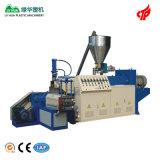 Machine de granulation de vis jumelle conique de PVC de plastique
