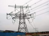 De Toren van de Transmissie van de Macht van de hoogspanning, de Contactdoos van de Macht van de Toren, de Toren van de Macht