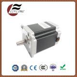 Motor de passo híbrido sem ruído NEMA24 60 * 60mm para máquina CNC