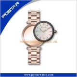 カスタムロゴの腕時計のセリウムのRoHSの普及した硬貨のレディース・ウォッチ